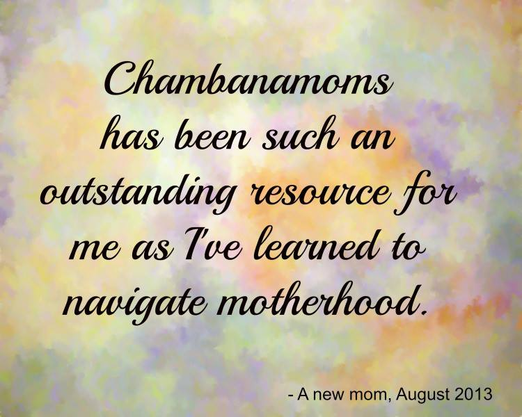chambanamoms testimonial