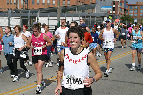 Moms will be among those running at this year's Illinois Marathon. How do they find time for fitness?