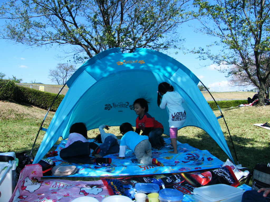 Backyard or Campground, Camping is Good Family Fun