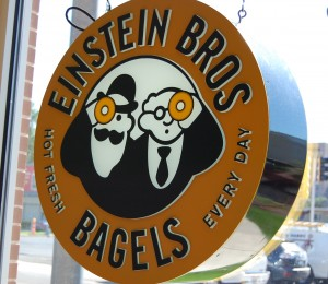 The new Einstein Bros. Bagels in Urbana will open on Tuesday, June 29 at 5:30 a.m.
