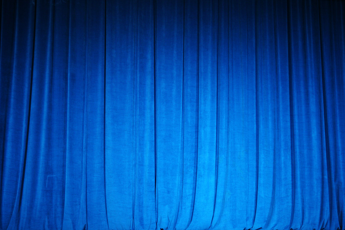 Blue Stage Curtains | www.imgkid.com - The Image Kid Has It!