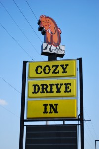 Get something to eat at the Cozy Dog Drive In. Photo by Tydence on flickr.