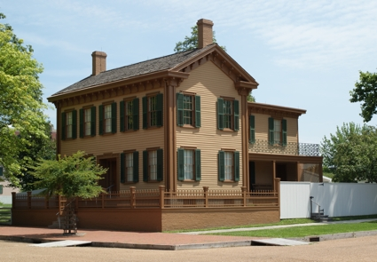 Lincoln's home in Springfield, Ill. Photo by Tara Burghart