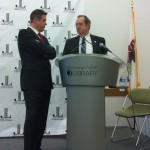 Champaign mayoral debate April 5 vote Don Gerard Jerry Schweighart