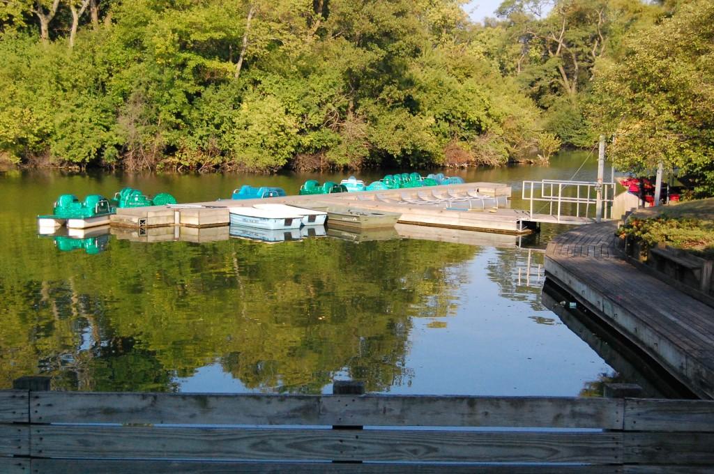 The boats at Crystal Lake Park, Urbana