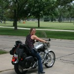 Champaign Urbana Harley Mom nurse Carle