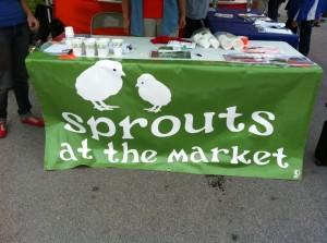champaign urbana market at the square vote sprouts