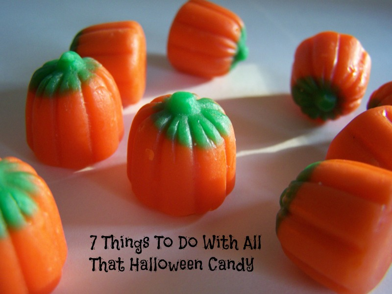 7 Things to Do With All That Halloween Candy