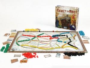 Family Game Night Ticket to Ride games Chambanamoms