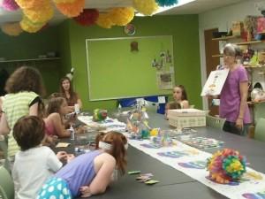 I.D.E.A. Store birthday party Champaign