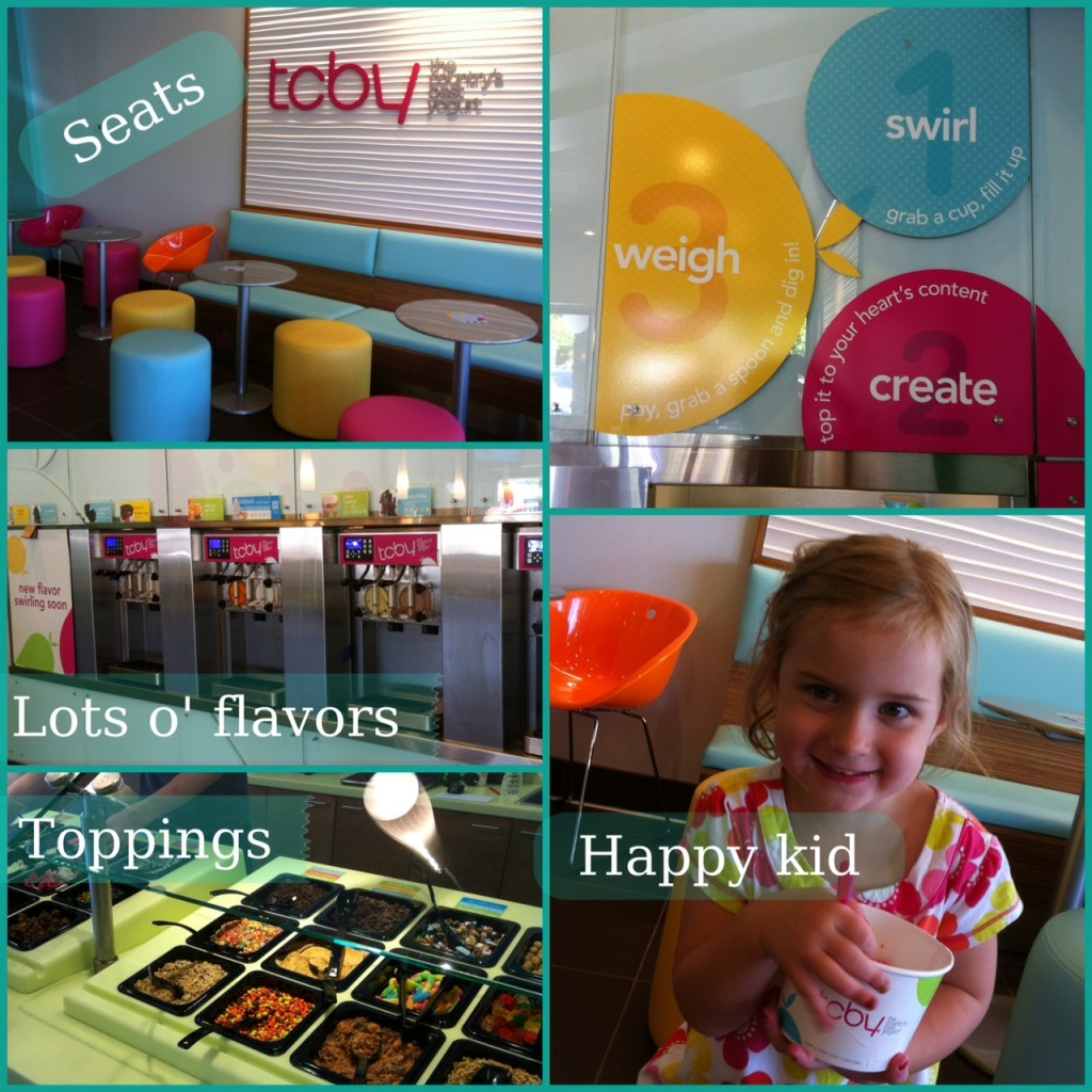 Tcby Champaign frozen Yogurt Urbana grand opening greek yogurt