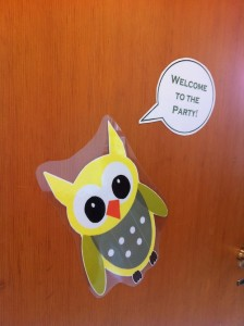 Anita Purves Nature Center birthday party owl