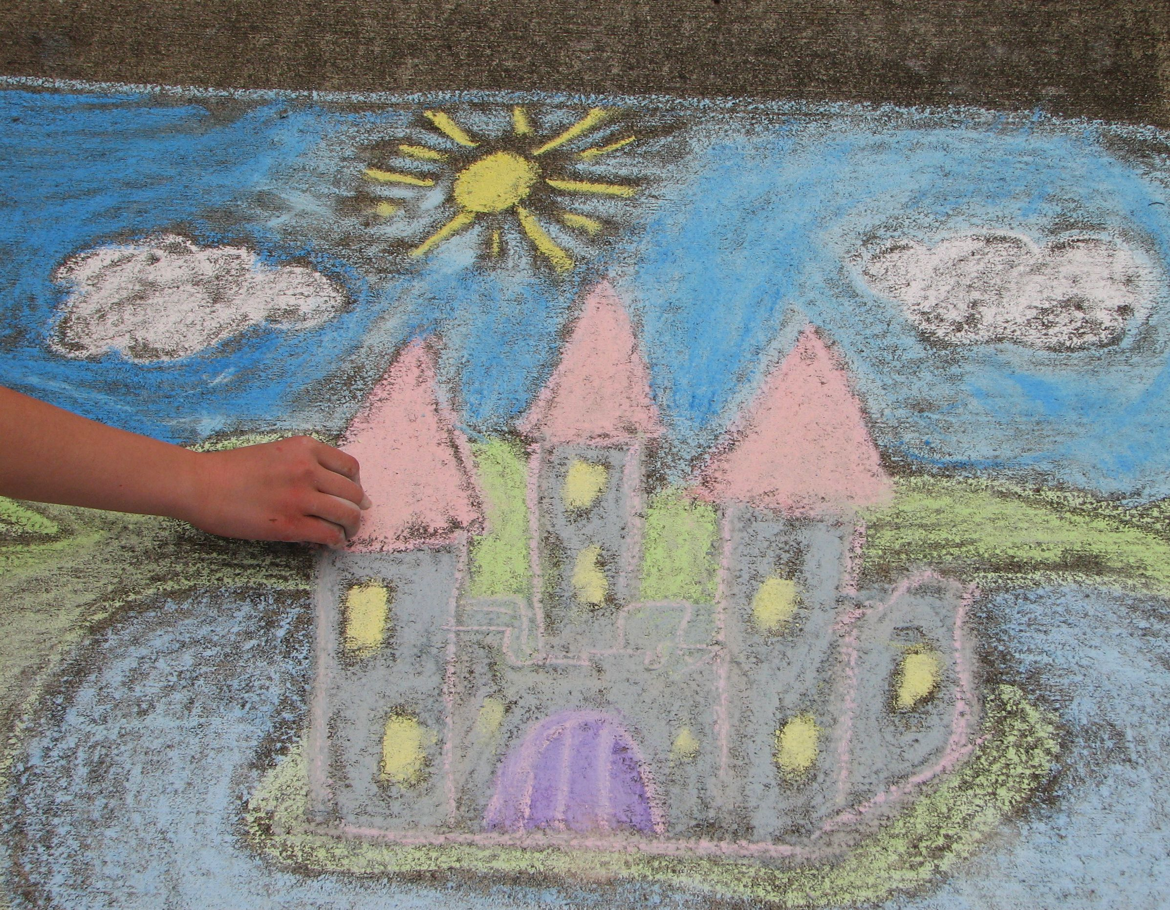 Friday Night Live Kids Sidewalk Chalk Contest