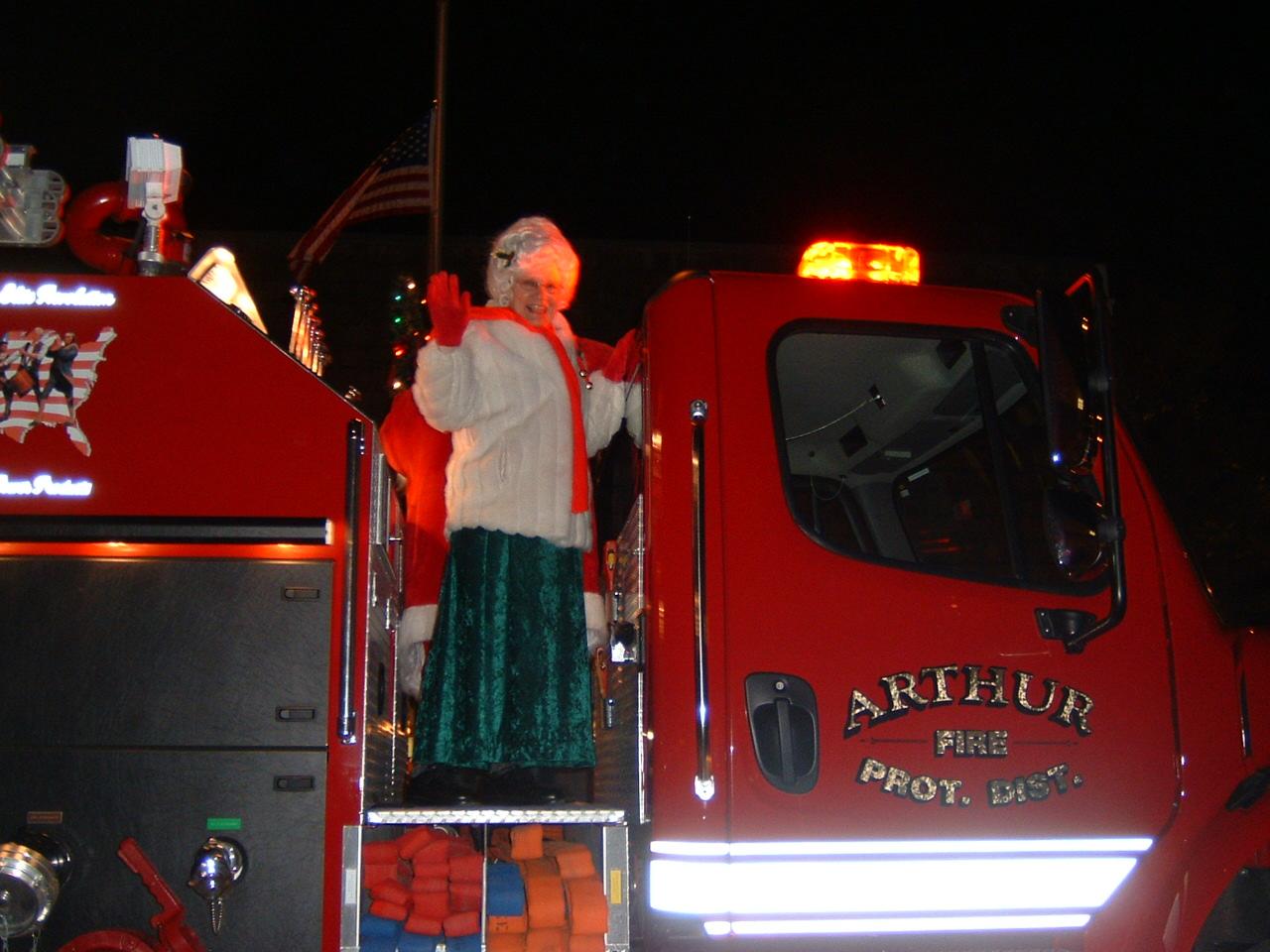 Santa Vists Arthur