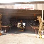 Entrance to Wagon Wheel Pumpkin Patch