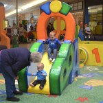 The preschool set will love the new indoor playground at Market Place Mall in Champaign.