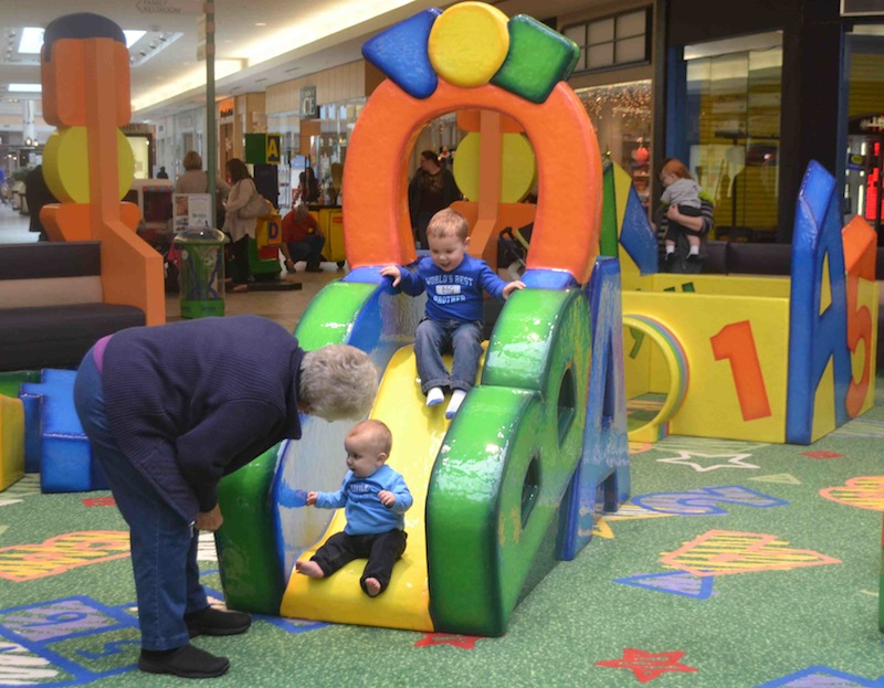 Champaign\'s Market Place Mall Updates Indoor Play Area
