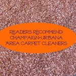 Champaign Urbana Area Carpet Cleaners recommendations