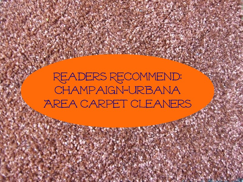 Readers Recommend Champaign Urbana Area Carpet Cleaners