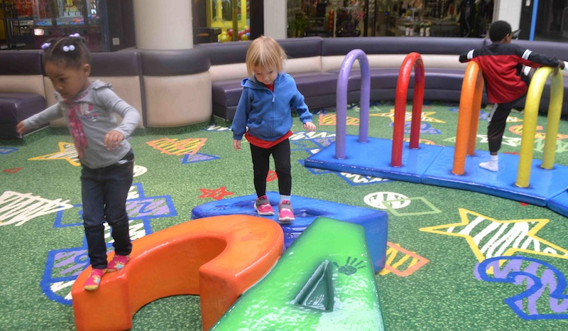 new indoor play area at Champaign's Market Place Mall