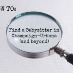 finding a babysitter in Champaign-Urbana