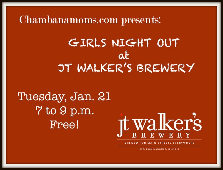 Chambanamoms Girls Night Out J.T. Walker's Mahomet