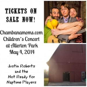 Chambanamoms.com Children's Concert Allerton Park