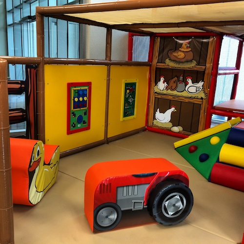 Leonhard recreation center indoor toddler play area for Baby play centre