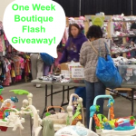 one week boutique flash giveaway April 14