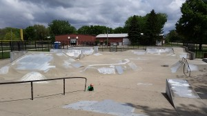 Spalding Skate Park Champaign www.chambanamoms.com