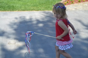 Fourth of July Crafts for Kids on chambanamoms.com