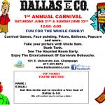 Dallas and Company First Annual Carnival