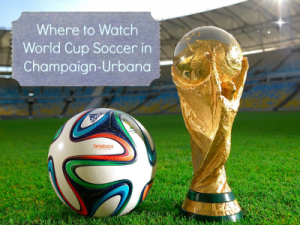 Where to Watch World Cup Soccer in Champaign-Urbana