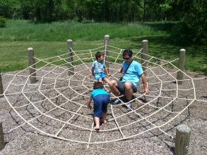 homer lake kids champaign urbana natural play