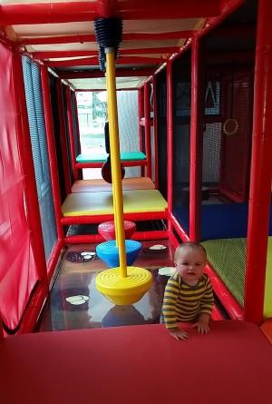 Champaign Park District Leonard Recreation Center Indoor Playground Review on www.chambanamoms.com
