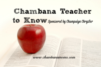 Introducing chambana teacher to know sponsored by for Shelby motors champaign il