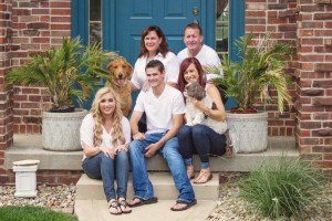 Carmen Davis Kirby and family