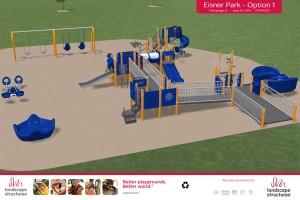 Eisner playground rendering