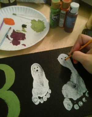 A Boo Tiful Halloween Craft