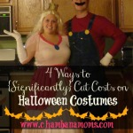4 Ways to {Significantly} Cut Costs on Halloween Costumes