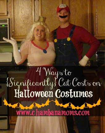 frugal and fun halloween costumes on www.chambanamoms.com