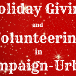 Holiday giving volunteering champaign-urbana