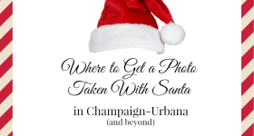 Santa Photos in Champaign-Urbana and Beyond