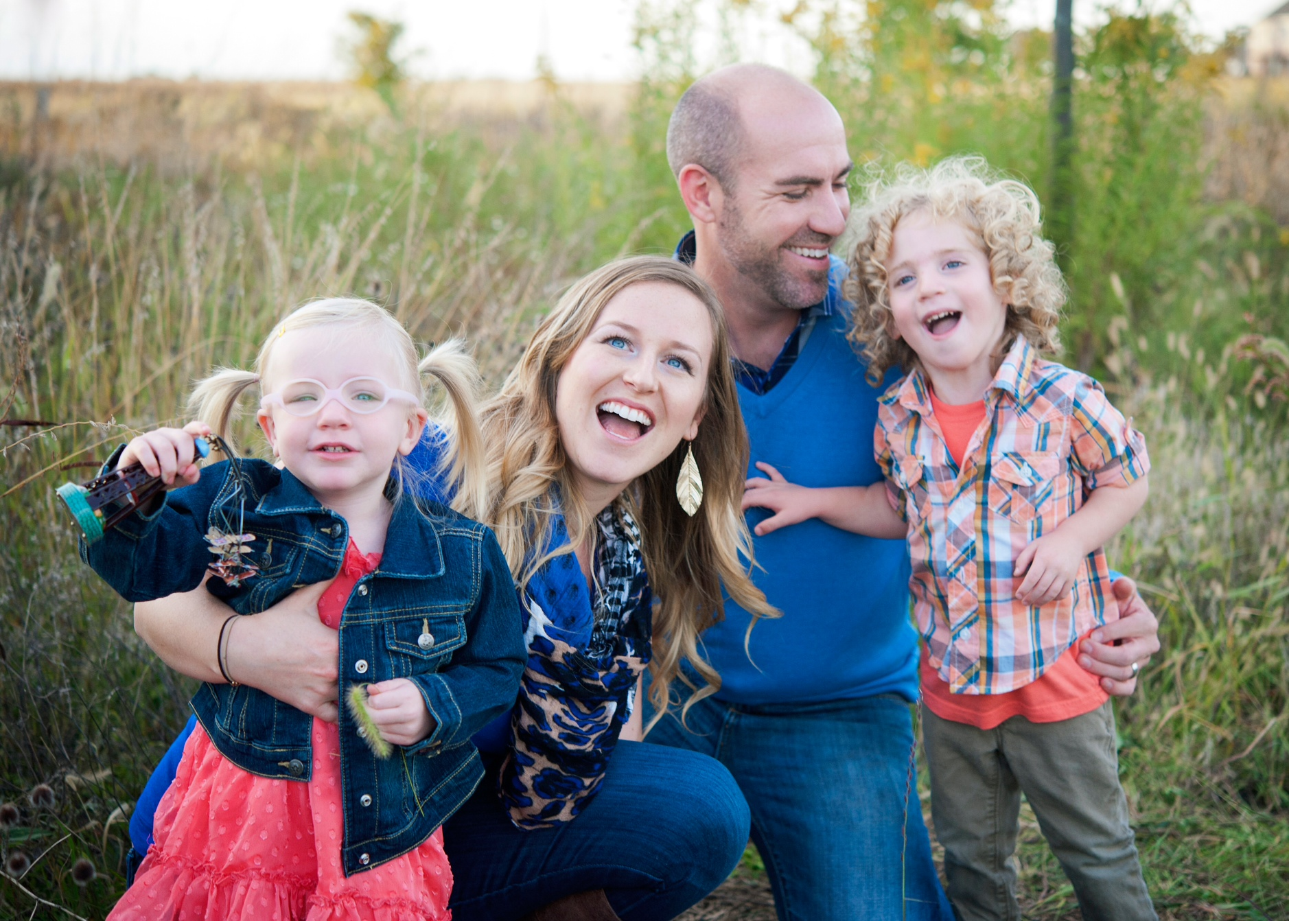 The Pangburn family Champaign Developmental Services Center Tree of Hope Family