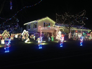 Griswolds Christmas.Griswolds Christmas Light Display A Local Family Favorite