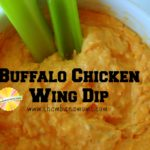 Holiday Cooking: Buffalo Chicken Wing Dip
