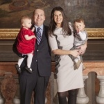 State Senator Scott Bennett and family