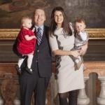 State Senator Scott Bennett and family