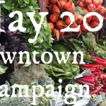 New Champaign Farmers' Market Starting in May