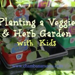 Planting a Veggie and Herb Garden with Kids (Plus a Coupon!)